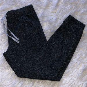 Pumpkin Patch Size 9 Girl black sparkly pants